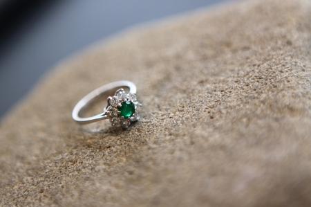 Prsten 'Zaleni Cvijet', 7 890 kn / 1052 Eur