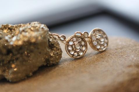 Naušnice 'Retro dijamant', 7950 kn / 1060 Eur