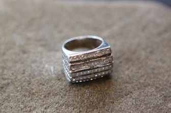 Prsten 'Pravokutni', cijena na upit