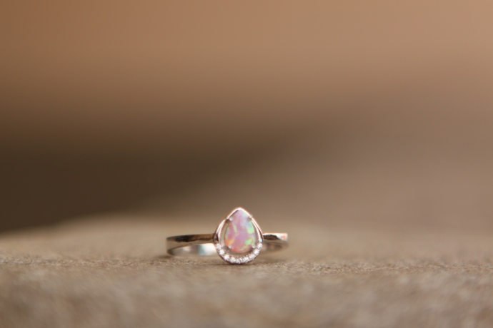 Prsten 'Opal', 318 kn / 42 Eur